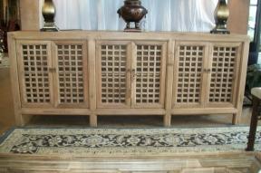 90703 Lattice Cabinet