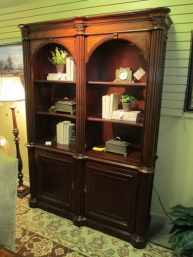 Double Arched Bookcase