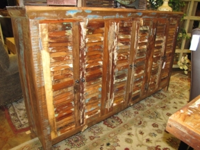 6 Door Shutter Cabinet