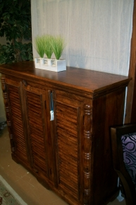 3 Door Sheeshum Cabinet