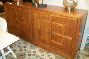 Natural Wood Key Cabinet